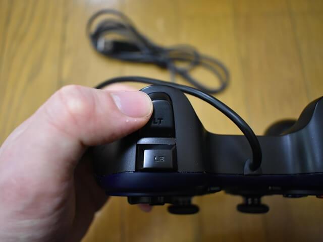 F310r,logicool,ゲームパッド,レビュー