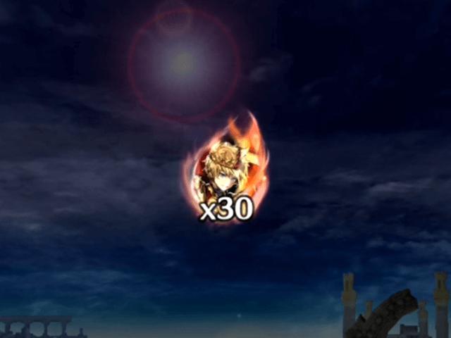 ラスクラ,烈火の豪剣ガチャ